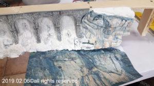 Verniciatura rocce