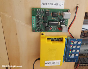 Moduli di controllo Loconet e DCC