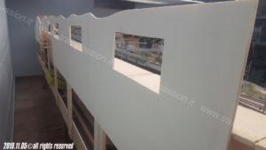 Pannelli posteriori del plastico