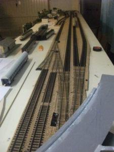 Binari e deviatoi stazione principale