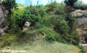 Vegetazione scarpata portale