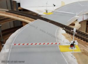Installazione passaggio a livello