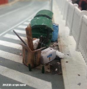 Dettagli - spazzatura