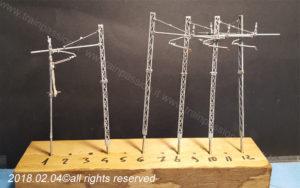 Verniciatura dei pali LS linea di parata