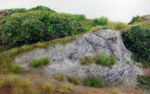 Dettaglio rocce