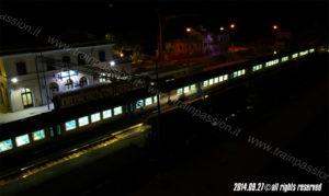 Vista notturna stazione