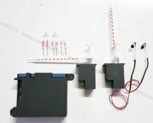 Componenti del kit del passaggio a livello