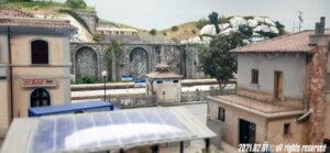 Vista dal piazzale della stazione