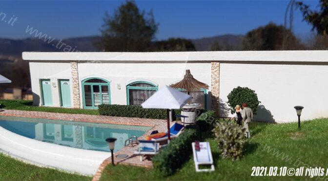Country-house & SPA – La piscina e la SPA