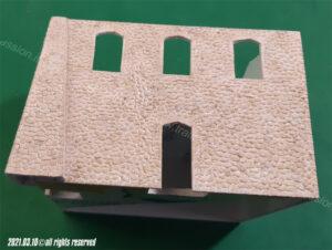Verniciatura dei muri in pietra